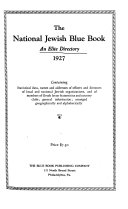 The National Jewish Blue Book