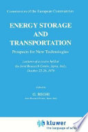 Energy Storage and Transportation: Prospects for New Technologies
