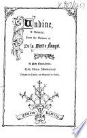 Undine A Romance From The German With Eleven Illustrations By Tenniel Etc