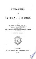 Curiosities of Natural History     Ninth edition  With plates