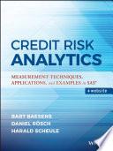 Credit Risk Analytics Book