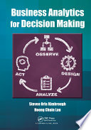 Business Analytics for Decision Making Book
