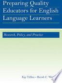 Preparing Quality Educators For English Language Learners