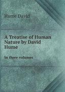 A Treatise of Human Nature by David Hume Pdf/ePub eBook