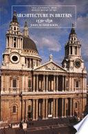 Architecture in Britain, 1530 to 1830