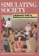 Pdf Simulating Society