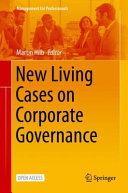 New Living Cases on Corporate Governance