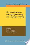 Electronic Discourse in Language Learning and Language Teaching Book PDF