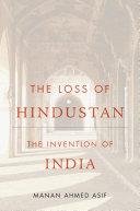 The Loss of Hindustan Pdf/ePub eBook