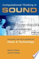 Computational Thinking in Sound