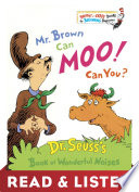 Mr  Brown Can Moo  Can You  Read   Listen Edition