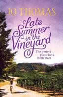 Late Summer in the Vineyard Pdf/ePub eBook
