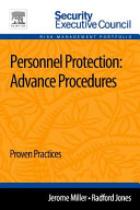 Personnel Protection: Advance Procedures