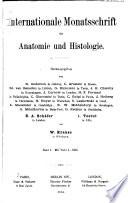 Internationale Monatsschrift f  r Anatomie und Histologie Book