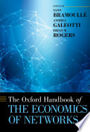 The Oxford Handbook of the Economics of Networks Book