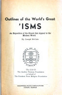 Outlines of the World s Great I  sms