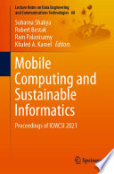 Mobile Computing and Sustainable Informatics