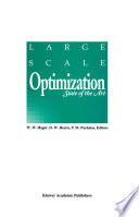 Large Scale Optimization Book