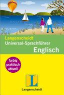 Langenscheidt Universal Sprachf  hrer Englisch