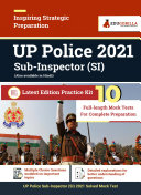 Pdf UP Police Sub-Inspector 2021| Practice Kit of 10 Full-length Mock Tests Telecharger