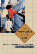 Our Knowledge of the Law