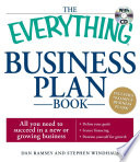 The Everything Business Plan Book with CD Book