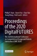 Proceedings of the 2020 DigitalFUTURES