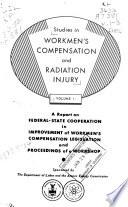 Studies In Workmen S Compensation And Radiation Injury