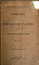 Pdf Water-supply Paper