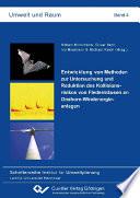 Entwicklung von Methoden zur Untersuchung und Reduktion des Kollisionsrisikos von Fledermäusen an Onshore-Windenergieanlagen