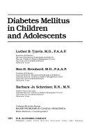 Diabetes Mellitus in Children and Adolescents