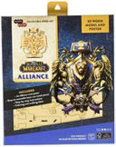 IncrediBuilds  World of Warcraft  Alliance 3D Wood Model