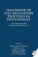 Handbook of Self Regulatory Processes in Development