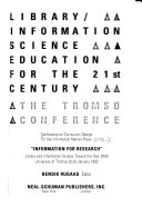 Library information Science Education for the 21st Century Book