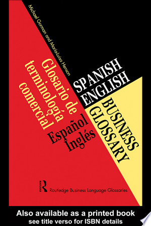 [pdf - epub] Spanish/English Business Glossary - Read eBooks Online