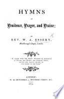 Hymns of Penitence, Prayer and Praise