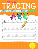 My First Tracing Book Book