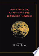 Geotechnical And Geoenvironmental Engineering Handbook