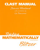 Clast Manual Thinking Mathematically
