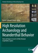 High Resolution Archaeology and Neanderthal Behavior