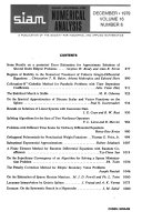 SIAM Journal on Numerical Analysis Book