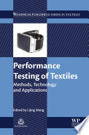 Performance Testing of Textiles Book