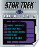 Star Trek  The Book of Lists