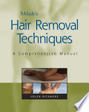 Milady S Hair Removal Techniques Book