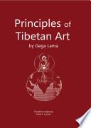 Principles of Tibetan Art  sur la Jaquette  Book