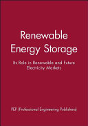 Renewable Energy Storage