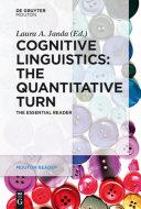 Cognitive Linguistics     The Quantitative Turn