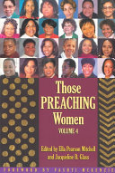 Those Preaching Women Book