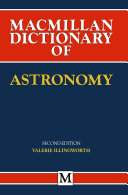 Pdf Macmillan Dictionary of Astronomy