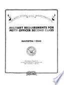 Military Requirements for Petty Officer Second Class Book PDF